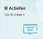 IR Activities Go to page